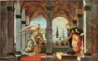 Благовещение (1490-1493) (Нью-Йорк, Гленс Фаллс)