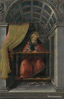 Св.Августин в своей келье (1490-1494) (41 x 27) (Флоренция, Уффици)