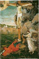 Мистическое распятие (ок.1497) (74 х 75) (Кембридж, Музей Гарвардского универс.)