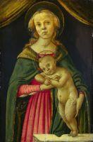 Мадонна с младенцем (1485-1500) (Лондон, Нац.галерея)