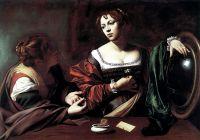 Марта и Мария Магдалина, 1597-1599