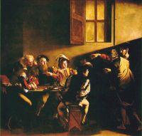 Призвание св. Матфея, 1599-1600