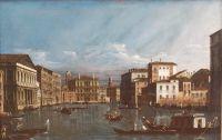 Большой канал в Венеции (1736-1740)