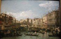Большой канал, мост Риальто (1738)