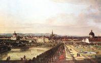 Вид Вены со смотровой площадки (1759-1760)