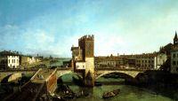 Вид моста Нави в Вероне (1740-е)