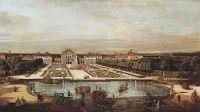 Вид Мюнхена, вид замка Нимфенберг с запада (1761)