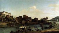 Вид Пирны со стороны гавани (1753-1755)