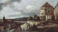 Вид Пирны, Пирна, вид со стороны крепости Зонненшайн (1755)