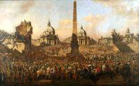 Вход Иржи Оссолинского в Рим в 1633 (1779)