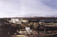 Деревня Гаццада, вид на виллу Мелци дЭрил с юго-востока (1744)