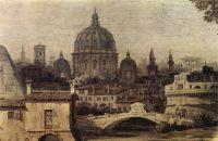Римское каприччио, арка Тита. Деталь (1747)