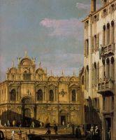 Школа Святого Марко. Деталь (1738-1740)