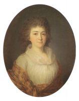 Портрет А.М. Писаревой, рожденной Дурасовой. Первая половина 1790-х