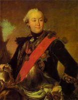 Портрет графа Г.Г. Орлова в латах. 1762-1763
