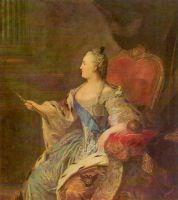 Портрет Екатерины II. 1763