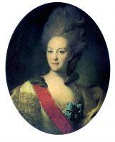 Портрет княгини Е.Н. Орловой. Около 1779