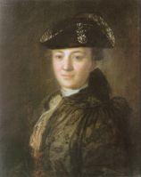 Портрет неизвестного в треуголке. Начало 1770-х