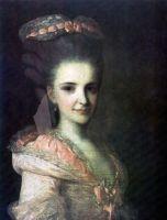 Портрет неизвестной в розовом платье. 1770-е