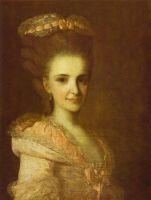 Портрет неизвестной в розовом платье. 1770-е (2)