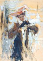 Дама в черном (Вторая пол. 1910-х)