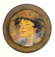 Женский портрет (М-llе Жирмонд) (1918—1922)