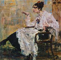 Женщина с сигаретой (1917)