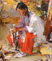 Индеец с кукурузой (1927—1933)