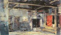 Интерьер избы (1921)