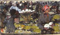 Капустница. Эскиз (1909) 2