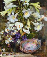 Лилии с раковиной (1934-1955)
