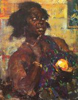 Негритянка с апельсином (1923)
