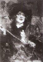Портрет m-lle Подбельской (1912)