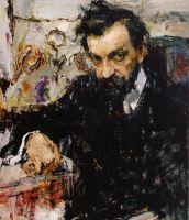 Портрет архитектора Петра Абрамычева (1912)