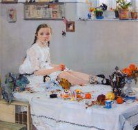 Портрет Вари Адоратской (1914)