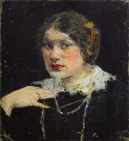 Портрет девушки (Екатерина Антропова) (1910-е)