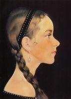 Портрет Ии (в профиль) (1927—1933)