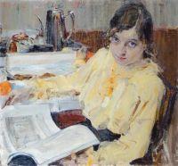 Портрет М.В.Евлампиевой (1914)