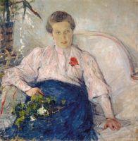 Портрет М.Т.Тепловой (1906)
