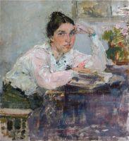 Портрет Н.М.Сапожниковой. Этюд (1915)