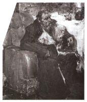 Портрет отца в кресле (1918)