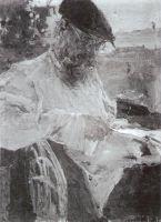 Портрет отца за чтением газеты (1916)