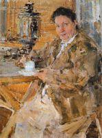 Портрет П.В.Фешиной (матери художника, урожденной Чистовой) (1916)