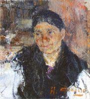 Портрет пожилой женщины (1916)