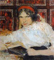 Портрет студентки Маши Быстровой (1917)