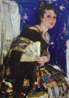 Русская певица (Портрет Е.И.Хатаевой) (Ок.1924)