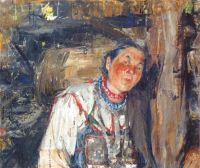 Сваха (этюд к картине Черемисская свадьба) (1908)
