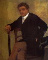 Молодой человек в пиджаке с котелком (1864-1868) (частная коллекция)