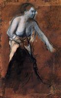 Стоящая женщина с обнажённым торсом (1866-1868) (Базель, Художественный музей)