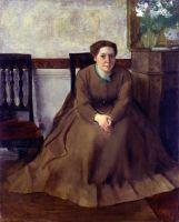 Портрет Виктории Dubourg (1868-1869) (81.3 х 64.8) (Толедо, Музей искусства)
